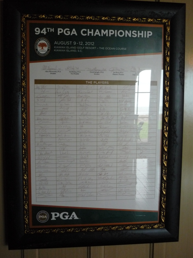 OC PGA Competitors