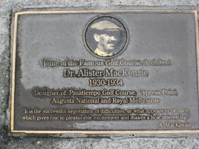 PT 6 - MacKenzie Plaque