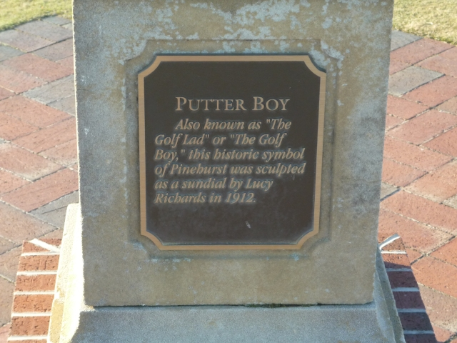 PCC - Putterboy Plaque